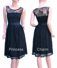Lace Hand-wash Only Sleeveless Dresses for Women