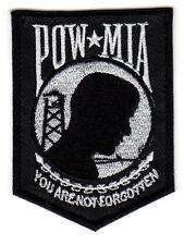 POW/ MIA -Military Veteran Vest, Jacket , Motorcycle MC / MM Biker Patch