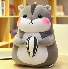 Cute Hamster Mouse Plush Toy Stuffed Soft Animal Pilloq Soft Pillows Kawaii 30cm