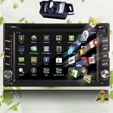 """Android HD WIFI 6.2"""" Double 2 DIN Car Radio Stereo DVD Player GPS Navigation+Cam"""