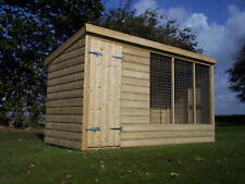 Dog Kennel And Run  -  From £325