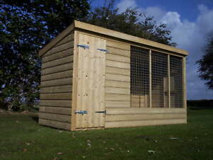 Dog Kennel And Run  -  From £345