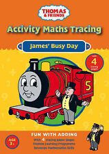 James' Busy Day: Activity Maths Tracing (Thomas & Friends), Betty Root, New Book