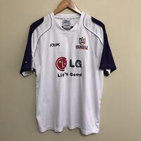 Fremantle Dockers 2007 Official AFL Training Shirt Reebok White Mens XL