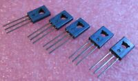 JE340 Motorola NPN Silicon Si Transistor .5A 300V Tinned Leads - NOS Qty 5