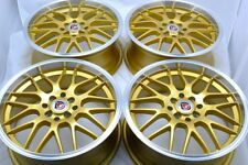 17 gold Wheels Rims xB G3 G5 Protege Civic Accord Integra Spark TL 4x100 4x114.3