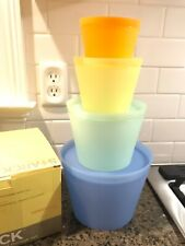 New listing New Philipe Starck 8 Piece Stackable Food Storage Set Target Exclusive Alessi