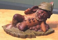 Jeff Tom Clark Gnomes Collection #82 1983 Cairn Studios Made in Usa Pecan Resin