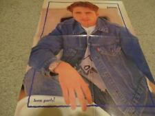 Jason Priestley Damon teen magazine poster clipping The Party Tutti Fruii rare
