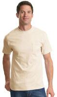 Port & Company Big & Tall Men's 6.1oz 100%Cotton Basic T-Shirt. PC61PT