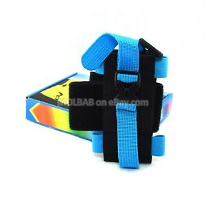 Universal Sports Running Arm Band for Smartphone Mobile Phone Bag Blue Black