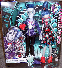 Monster High Slo Mo Mortavitch + Ghoulia Yelps Liebe stirbt nie CKD81 NEU/OVP