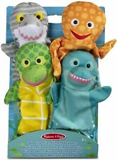 Puppets & Plush Toy - Sea Life Friends Puppets Melissa & Doug 19117