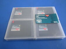 LOT OF 4 USED IMATION TRAVAN 20GB COMPATIBLE NETWORK SERIES (TR-5)DISK CARTRIDGE