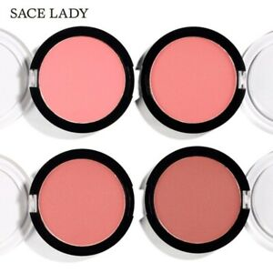 4 COLOR Makeup Blusher Blush Powder Long Lasting Pigmented Baked makeup set