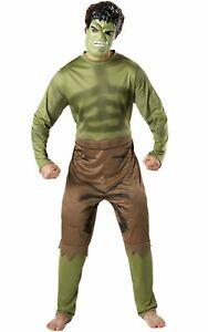 Men's Avengers Classic Hulk Costume/Cosplay