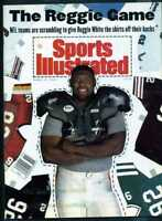 SPORTS ILLUSTRATED MARCH 15 1993 REGGIE WHITE