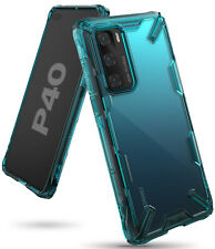 For Huawei P40 Case, [Fusion-X] Ringke Clear PC Back TPU Bumper Drop Protection