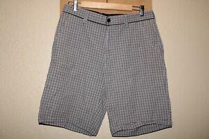 "TRAVIS MATHEW Mens 34"" Waist plaid shorts Combine ship Discount"
