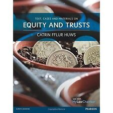 Text, Cases and Materials on Equity and Trusts, Good Condition Book, Huws, Dr Ca