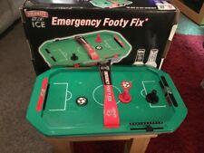 Emergency Footy Fix Mini Air Table Football Smirnoff Ice BOXED