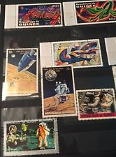 Stamp Republique De Guinee Lot Apollo 11 15 First Man On The Moon Space July