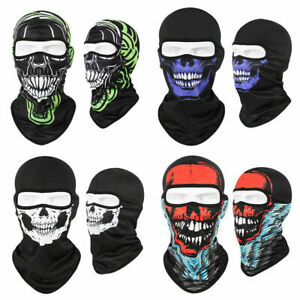 Windproof Ski Cover Motorcycle Face Cover Tactical Balaclava Hood for Men Women