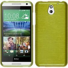 Coque en Silicone HTC Desire 610 - brushed vert pastel + films de protection