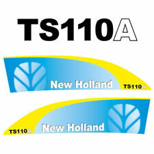 New Holland TS110A tractor decal aufkleber sticker set