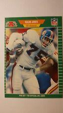 Tradingcard Football NFL Rulon Jones Denver Broncos Pro Set 1989