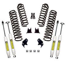 Suspension Lift Kit 2.5 Inch Shocks 2007 To 2018 Jeep Wrangler JK 2 Door X 61402