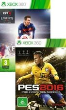 Fifa 16 and Pro Evolution Soccer 2016 PES 16 Xbox 360 New