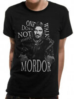 3175 Walk Into Mordor T-Shirt Lord Of The Rings Frodo Legolas Gandalf Two Towers