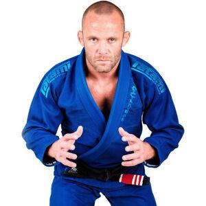 Tatami Fightwear Estilo Black Label BJJ Gi - Blue/Blue