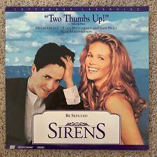 Sirens Letterbox Laserdisc - Hugh Grant