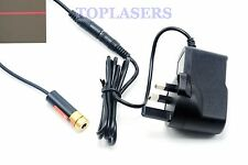 Industrial 5mw 650nm Red Laser Diode Line Module 13x42mm w/ 5V Power Adapter