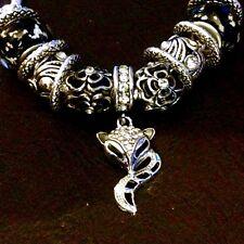 Bettelarmband Bettlerarmband Armband Schmuck Silber plattiert (versilbert) Fuchs
