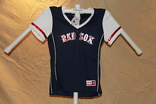 Boston Red Sox MLB Fan Fashion JERSEY/Shirt  by MAJESTIC  Womens Large  NWT $40