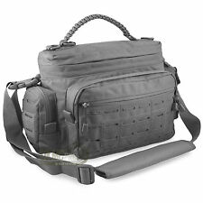 Homme small tactical shooting police kit EDC messenger épaule paracord sac gris