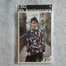 EXO 5th Anniversary Photo Set Growl SUM Cafe Official Goods 9Pcs