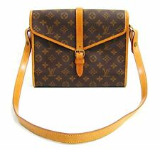 Louis Vuitton France Authentic Vintage Monogram Travel Organizer Shoulder Bag