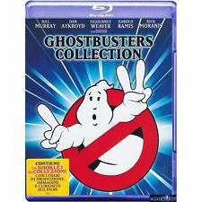 GHOSTBUSTERS Collection 1 & 2 (2 Blu-Ray) - NUOVO