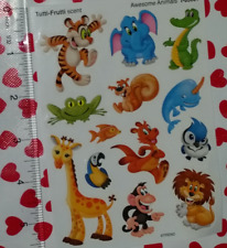 NEW Trend Enterprises Awesome Animals Tutti Frutti Scented Stickers T-83031