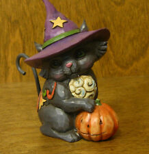 Jim Shore Heartwood Creek #4047843  BLACK CAT, New From Retail Store HALLOWEEN
