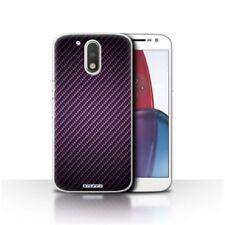 Étuis, housses et coques Pour Motorola Moto G4 en fibre de carbone pour téléphone mobile et assistant personnel (PDA) Motorola