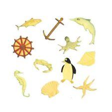 FMM Cutter Zeedieren Tappit glazuur Werktuig Pinguïn Anker Zeepaardje Krab