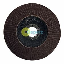 125mm abrasive grinding flap disc Ø 125x22.2mm grit 180