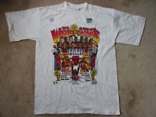 Vintage 1993 CHICAGO BULLS 3-Time NBA World Champs T-Shirt~ Men's L ~ New w/tags