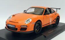 Norev 1/18 Scale Model 187562 - 2010 Porsche 911 GT3 RS - Orange