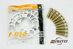 Kics KYO-EI 10mm Rim Wheel Spacer + Ichiba Extend Stud for Toyota Lexus Scion b